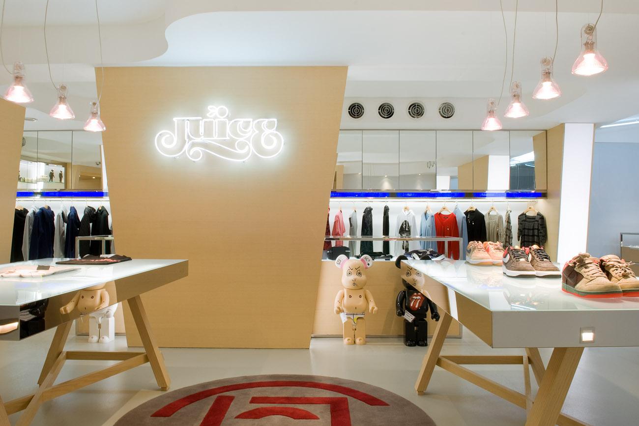 lui design / juice hk